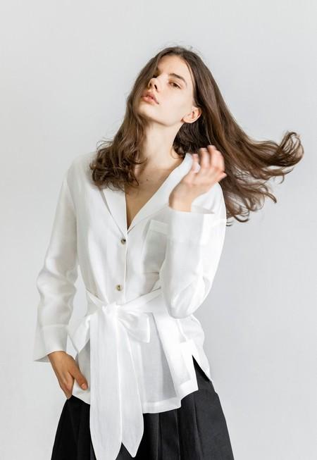 Mara Hoffman Eleanor Top - White