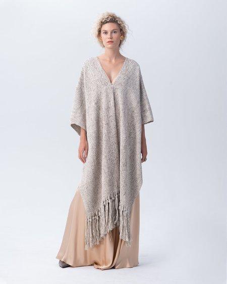 VOZ Marble Fringe Manta dress - Sand