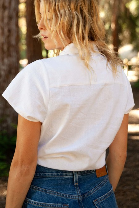 Rollas Tie Front Shirt