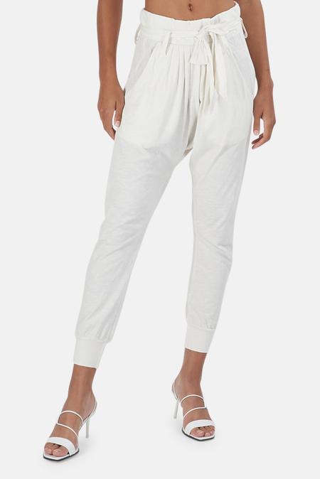 NSF Irina Sweatpants - soft White