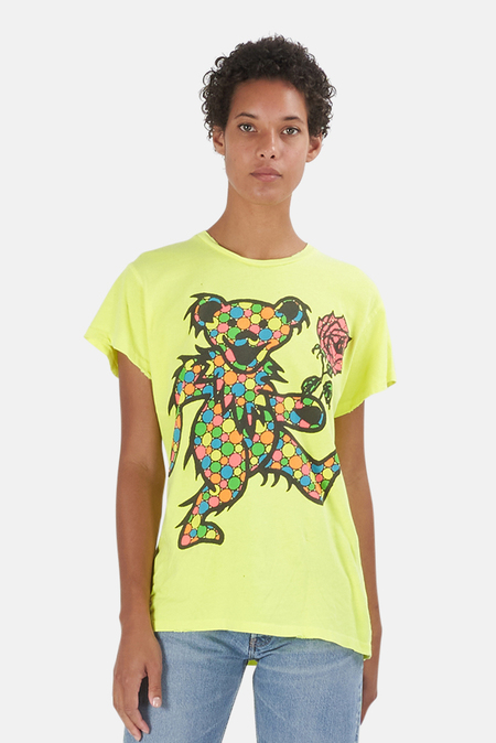 MadeWorn Rock Greatful Dead Dancing Bears T-Shirt - Acid