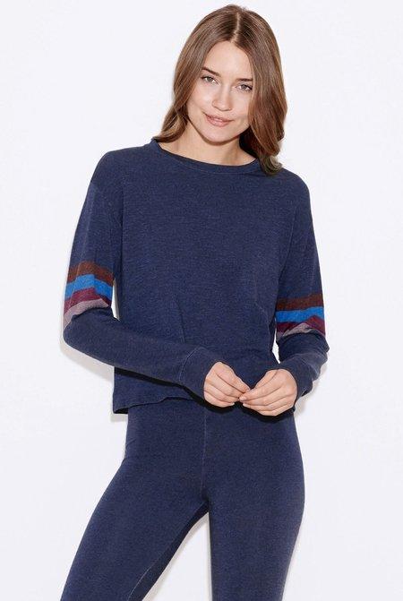Sundry Stripes Easy Pullover
