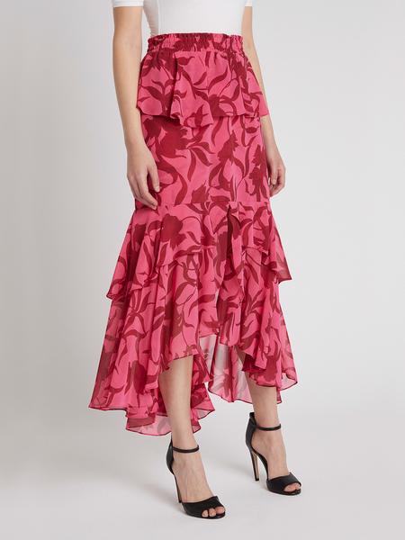 Misa Los Angeles Kalani Skirt - Graphic Floral