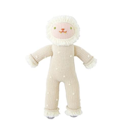 Flurry the Yeti Soft Toy - Knit
