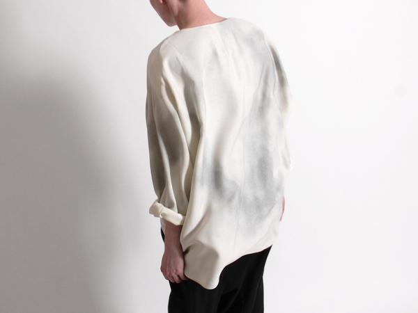 Berenik Oversized Sheepcloud Print Top
