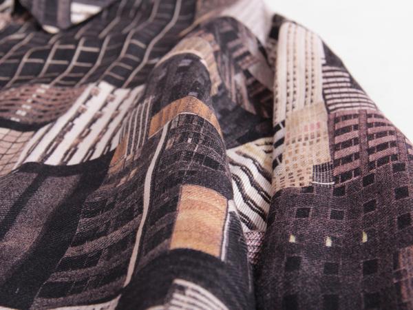 Berenik Printed Linen Blouse
