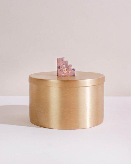Alietum Brass Keepsake Jar