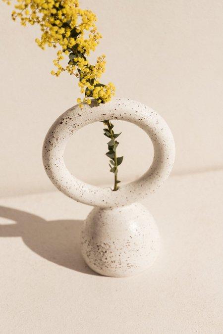 Eun Ceramics Femme #5 vase - white