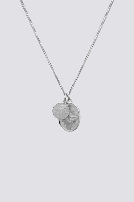 Miansai Mini Dove Pendant - Sterling Silver