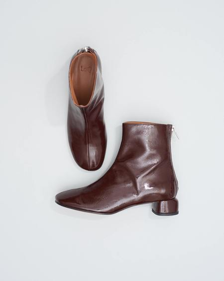 LOQ Lola BOOTS - Ganache Crinkle Patent