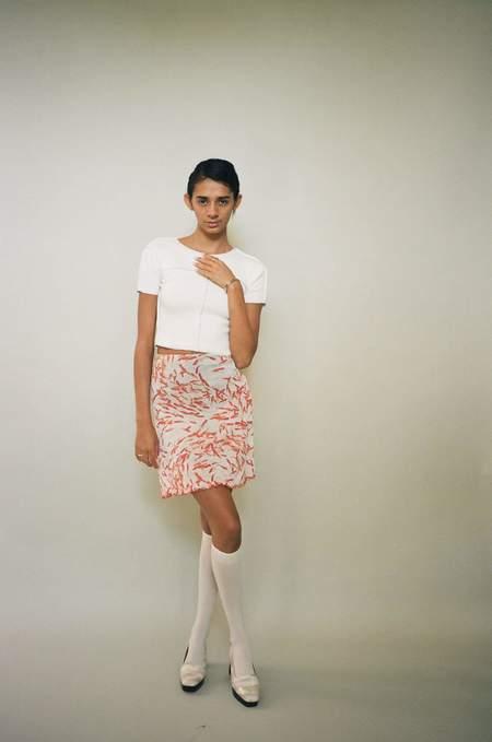 Priscavera A-line Skirt With Briefs - Goldfish