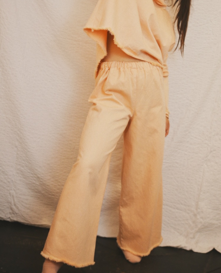 ASHLEY ROWE Ankle Long Pant - Peach Nougat