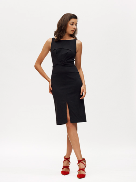 ELIZA FAULKNER MILAH DRESS IN BLACK