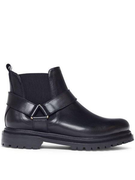 Hudson Moss Chelsea Boot - Black