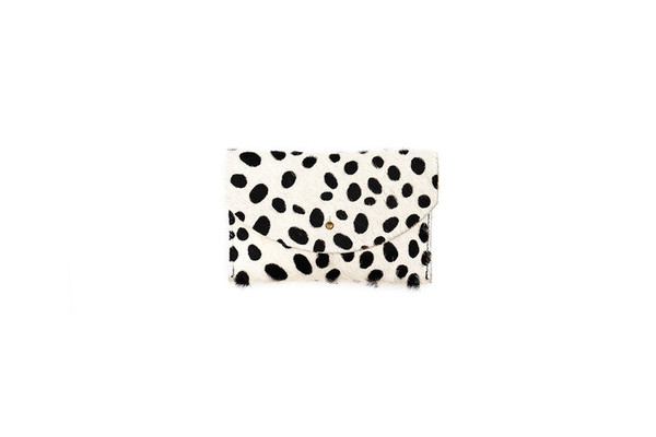 Primecut PASSPORT CLUTCH - SPOTTED