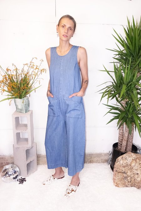 Ilana Kohn Milo Jumpsuit - Faded Denim