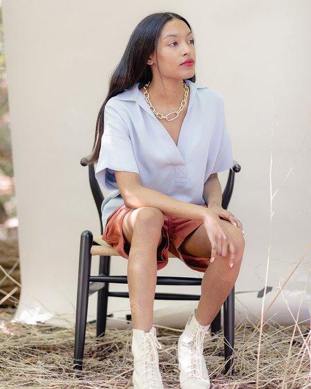 Rachel Comey Jagio Blouse - Light Blue