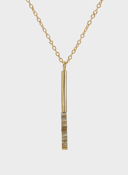 Soko Kamaru Horn Pendant Necklace