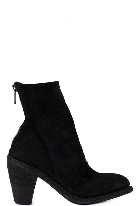 Guidi 3006 Horse Heel Boots - Black