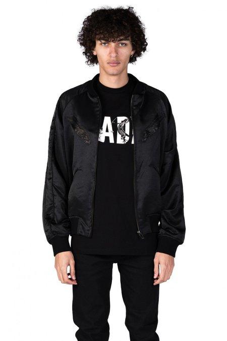 Christian Dada Embroidered Bomber jacket - black