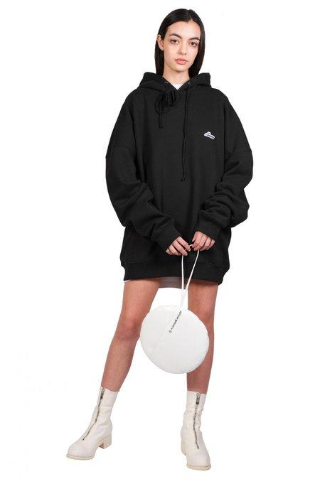 we11done Wapen Logo Hoodie sweater - black