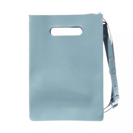 nana-nana Opaque A4 Bag - blue grey