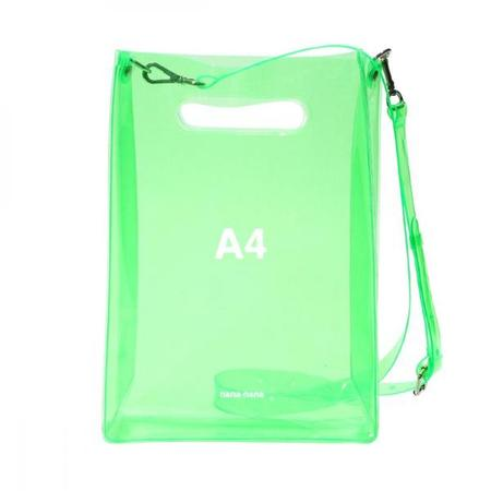 nana-nana A4 Bag - Neon Green