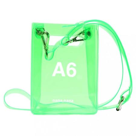 nana-nana A6 Bag - Neon Green