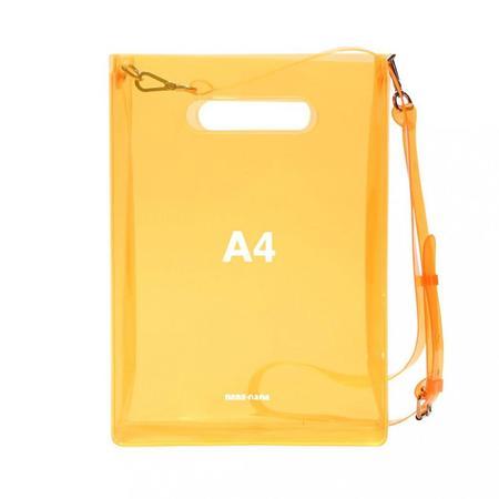nana-nana A4 Bag - Neon Orange
