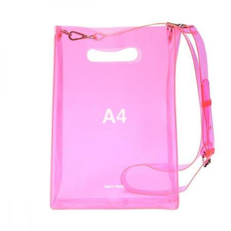 nana-nana A4 Bag - Neon Pink