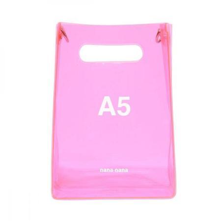 nana-nana A5 Bag - Neon Pink