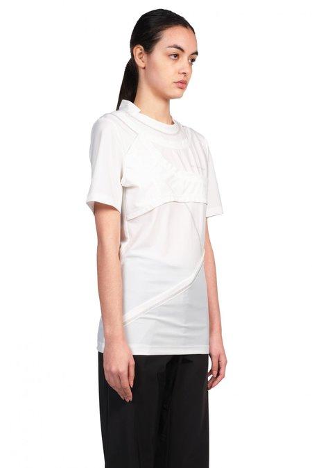 Feng Chen Wang Double Layered T shirt - White