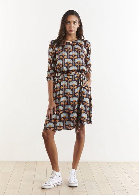 THE ODELLS Simple A Line Dress - COASTAL FLORAL