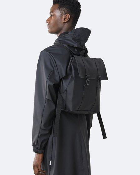 Unisex Rains Mochila MSN Bag Mini - Black