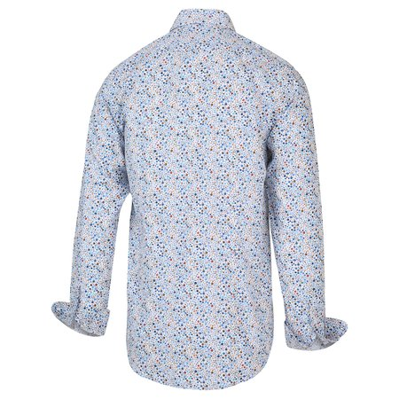 BLUE INDUSTRY BUTTON UP - BLUE