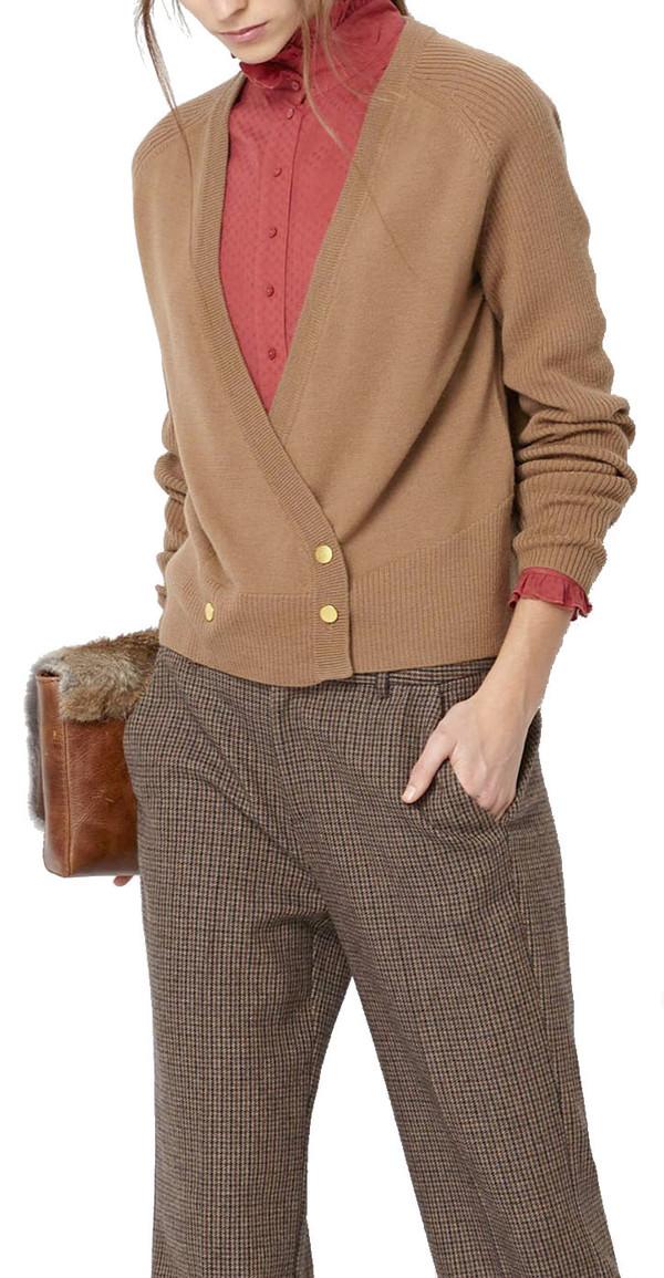 Hoss Intropia Wrap Button Cardigan