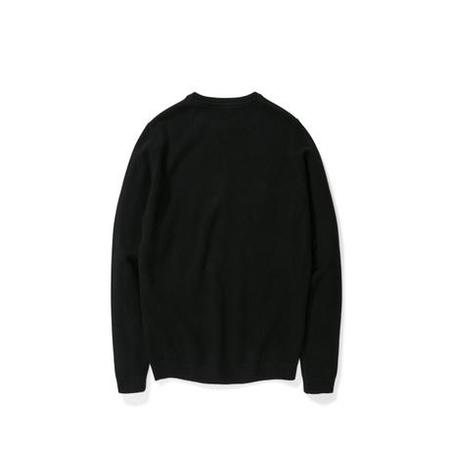 Norse Projects Sigfred Lambswool Sweater - Black