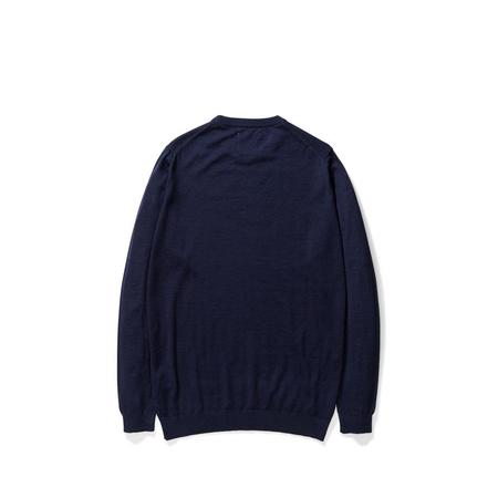 Norse Projects Sigfred Light Merino Sweater - Dark Navy