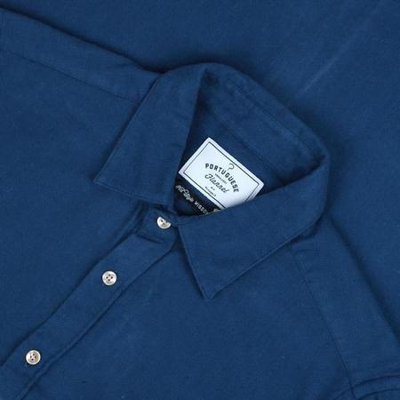 Portuguese Flannel TECA Button Up - Blue