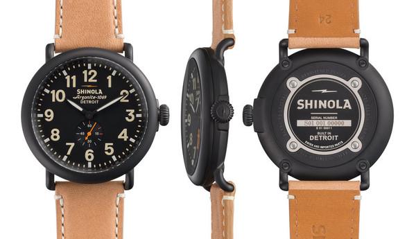 Shinola Detroit The Runwell 47mm - Black Dial