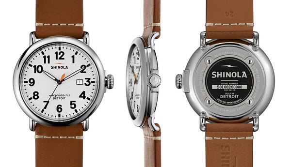 Shinola Detroi The Runwell 47mm - White Dial