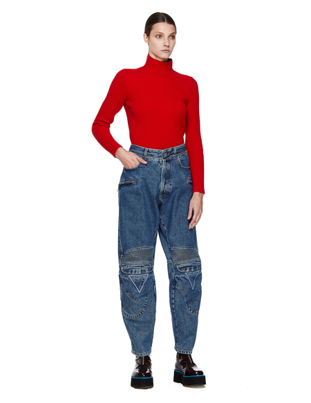 Vetements Biker Jeans - Blue