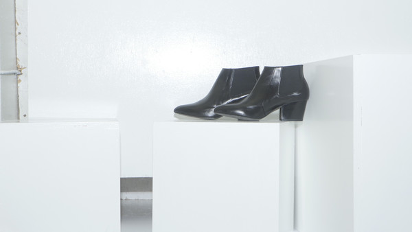 CROSSWALK SHOES POP UP SUNSET (2661) Black Leather