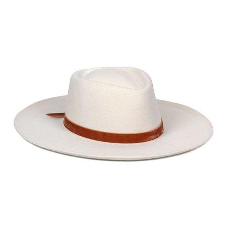 Lack of Color Val Diamond HAT - White