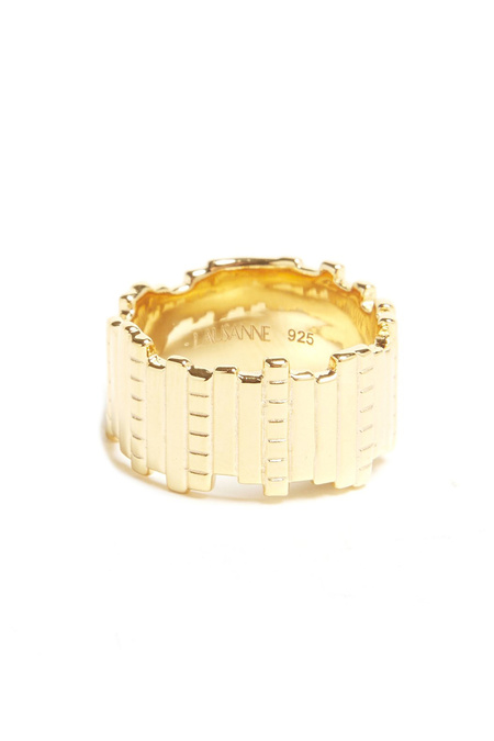 LAUSANNE Slice and Dice Ring - Gold