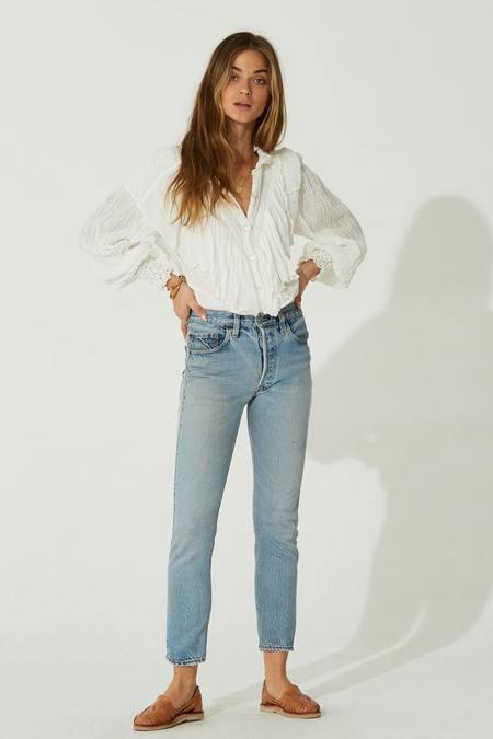 Jen's Pirate Booty Emasha Top - White