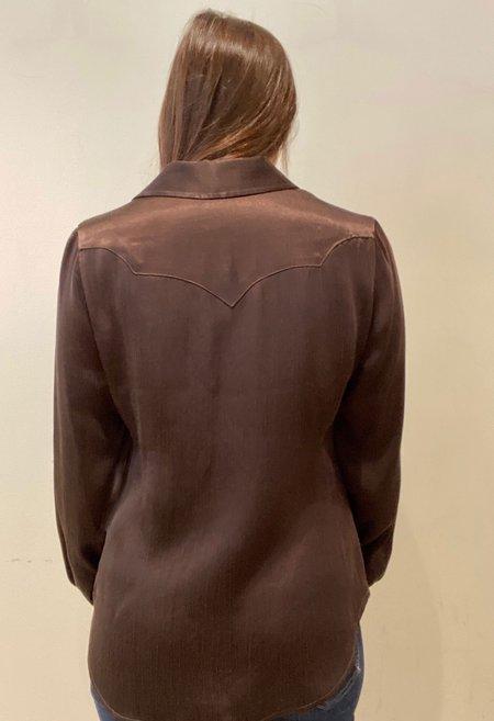 R.G. Kane Cowboy Shirt - Brown