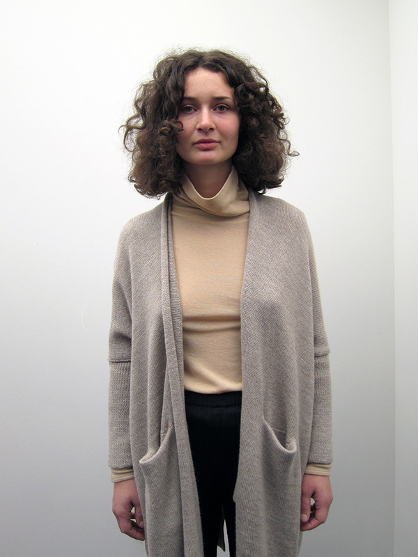 Lauren Manoogian Wide Cardigan, Ecru