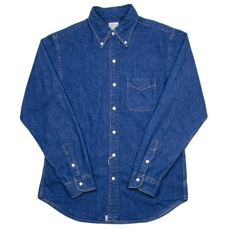 orSlow Button-down Shirt - Denim Used