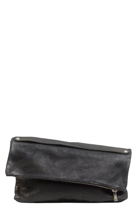 Guidi MR05 Handle Clutch Bag - Black